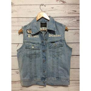 G-Star Jeans Denim Vest size M for sale